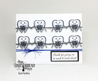 Our Daily Bread Designs Stamp/Die Duos: Happy Smiles, Custom Dies: Pierced Rectangles