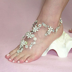 The Full Cover All-beaded anklets store India Online Shopping
