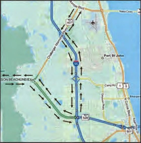 FDOT Detour Map
