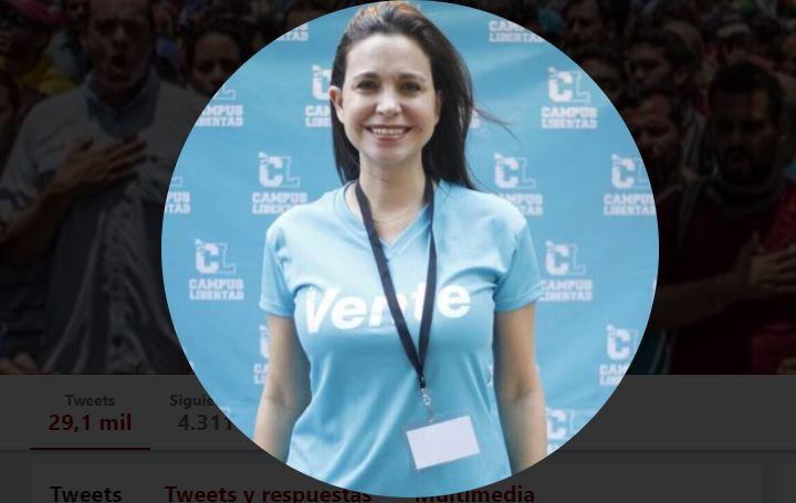María Corina Machado disparó contra el Petro y contra el Carnet del Chantaje