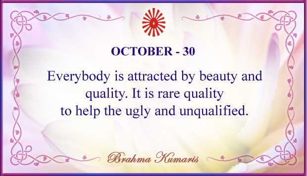 Thought For The Day October 30