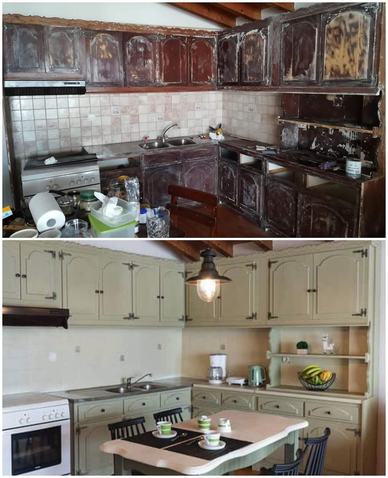 Αφιέρωμα: Κουζίνα! Έλα στην κουζίνα, βάζω καφέ! 4 Annie Sloan Greece