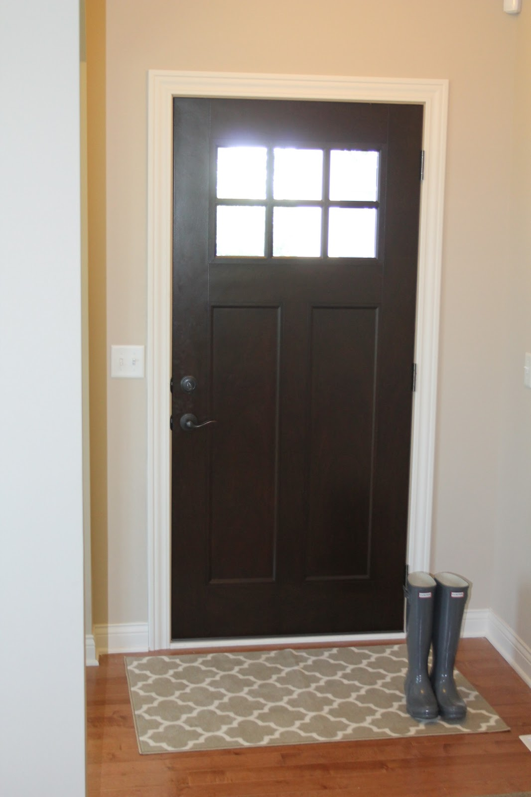 Entry Front Doors: Our Styled Suburban Life: New Front Door