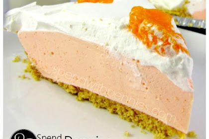 DREAMY CREAMSICLE PIE! SERVE SOFT OR FROZEN