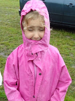 Top Tips for Children at Festivals - Take a Raincoat!