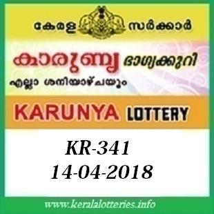 KARUNYA (KR-341) LOTTERY RESULT