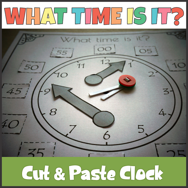 https://www.teacherspayteachers.com/Product/Clock-Cut-and-Paste-Telling-Time-4052780