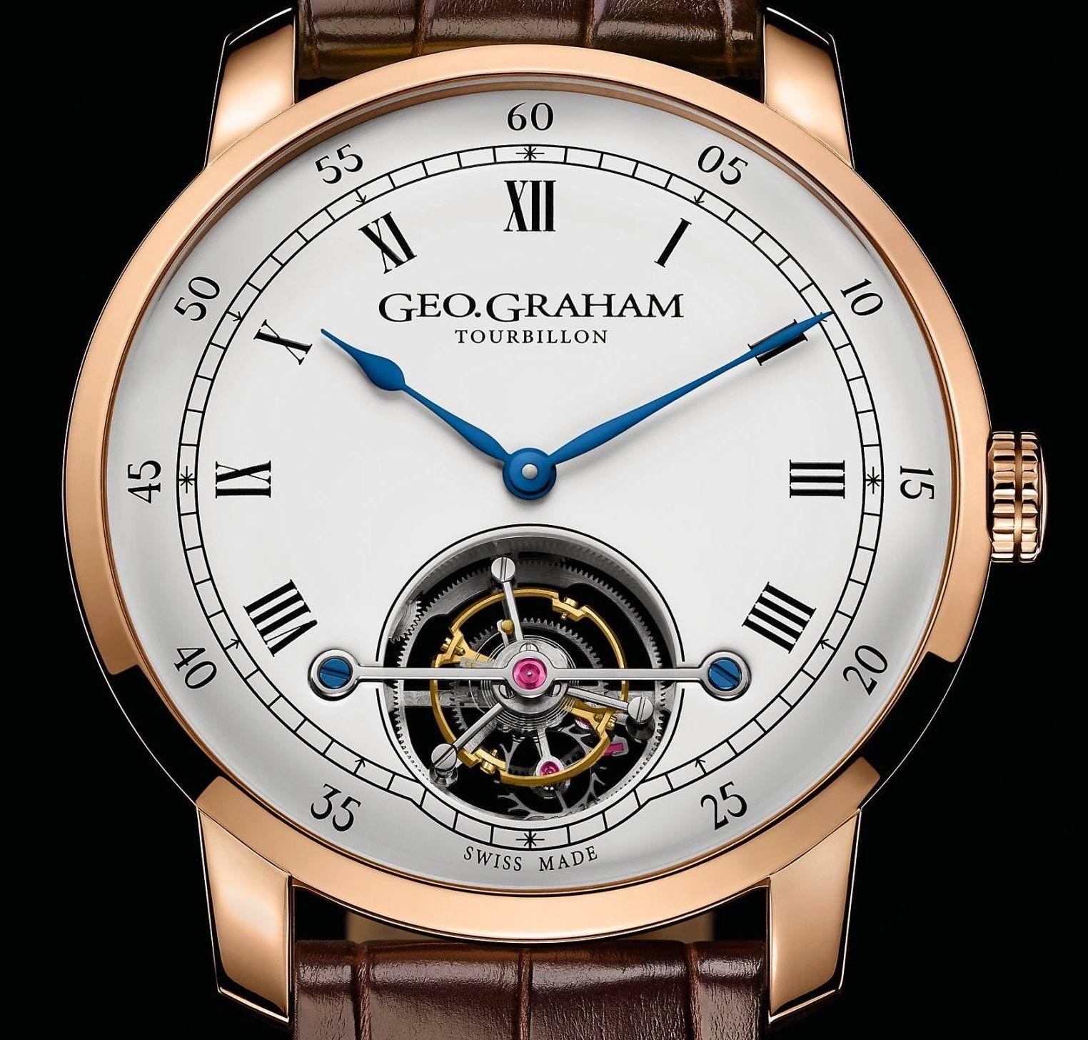 Graham London - Geo.Graham Tourbillon Limited Edition
