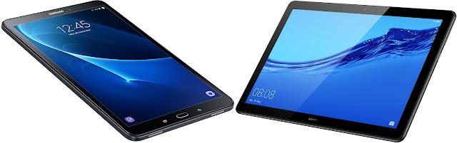 Comparativa mejores tablets 10,1 menos 200 euros