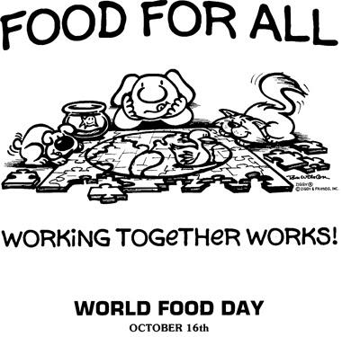 Somewhere I Belong: World food day 2012