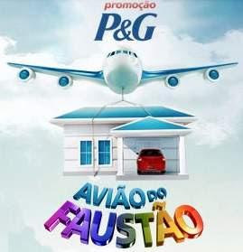 Cadastrar Promoção P&G 2018 Avião do Faustão Produtos P&G