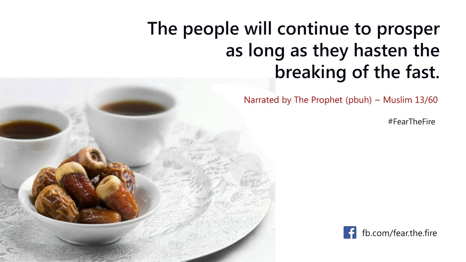 Hadith About Eating Food