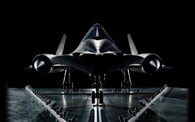 Papel de parede Lockheed SR-71 Blackbird para PC, Notebook, iPhone, Android e Tablet.