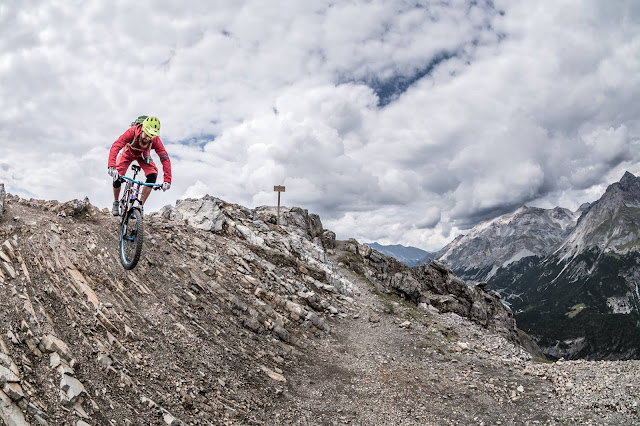 MTB - Monte delle Scale Croce di Scale 2497 m.ü.A Mountainbike Tour Bormio Valdidentro