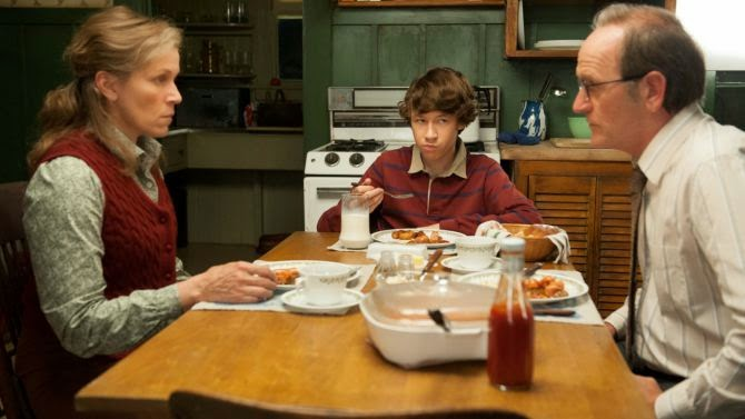 Los Kitteridge en una de sus intensas cenas en familia