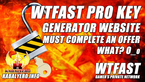 WTFast Pro Key Generator Website ★ You Must Complete An Offer To Get One, WHAT???