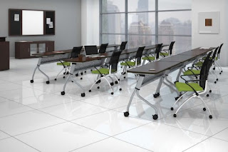 Mayline Sync Training Room Table Configuration