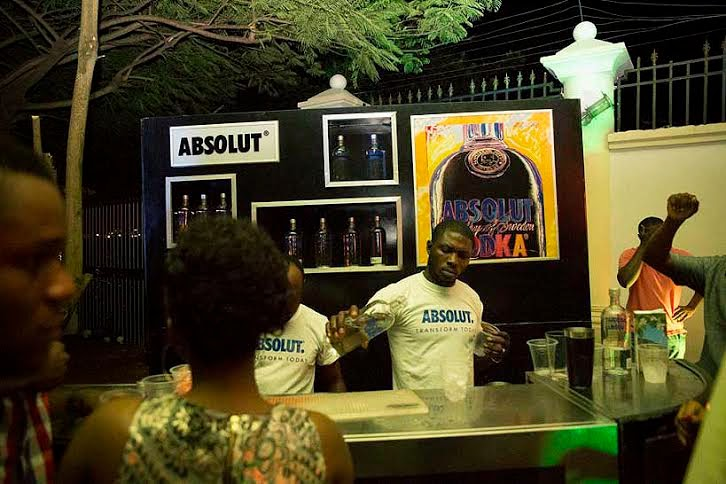 10 Photos: Absolut Vodka Supports Creativity with Art Party 2014