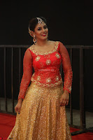 Iniya in Full Sleeves Ethnic Embroidery Blouse skirt at Mirchi Music Awards South 2017 ~  Exclusive Celebrities Galleries 016.JPG