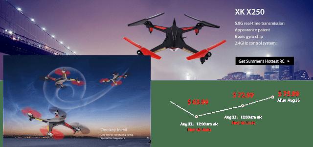 XK X252 Quadcopters Sale