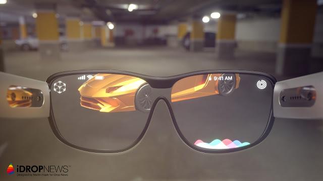 Kacamata Apple Glasses Berbasis AR pada 2020