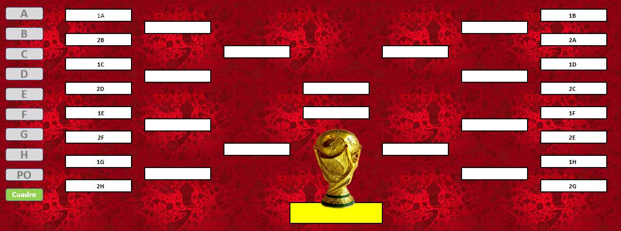 Fixture Mundial 2018 Fifa