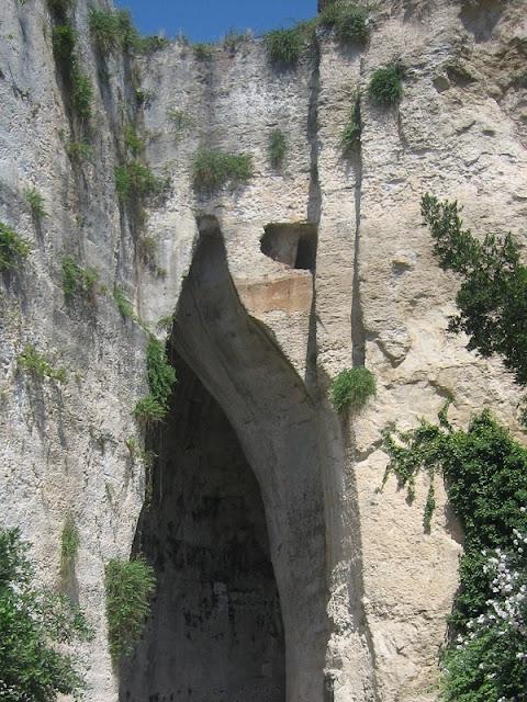 Oreja de Dionisio en Siracusa