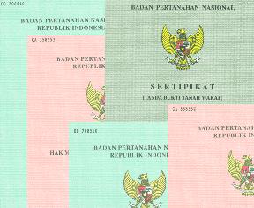 Pendaftaran tanah dan publikasi pendaftaran tanah