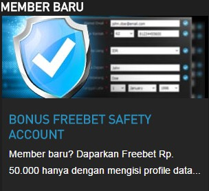 w88 || BONUS FREEBET SAFETY ACCOUNT 50.000 || W88TIP.COM