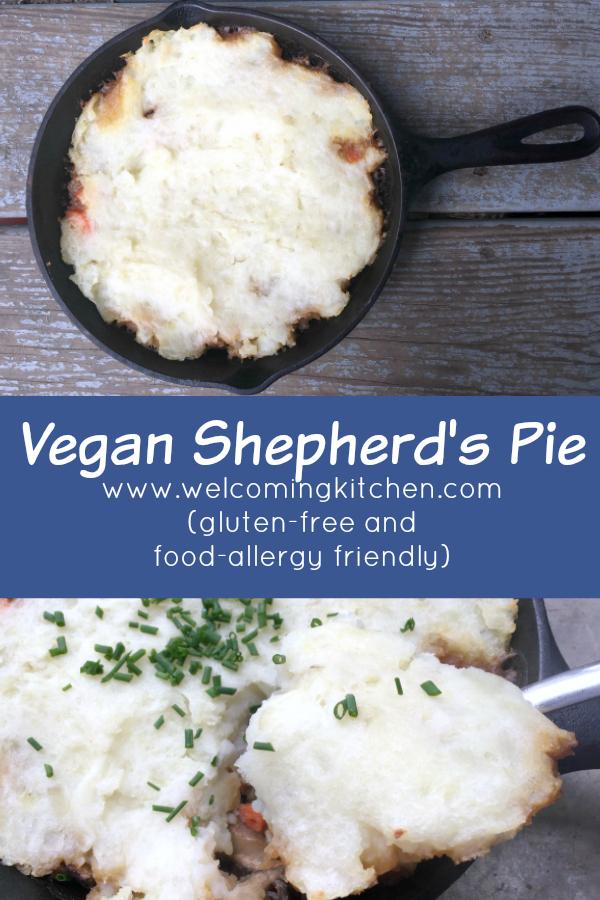 Vegan Shepherd's Pie (GF and Food-allergy Friendly) - www.welcomingkitchen.com