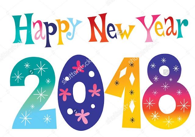 Happy New Year 2018 Themes
