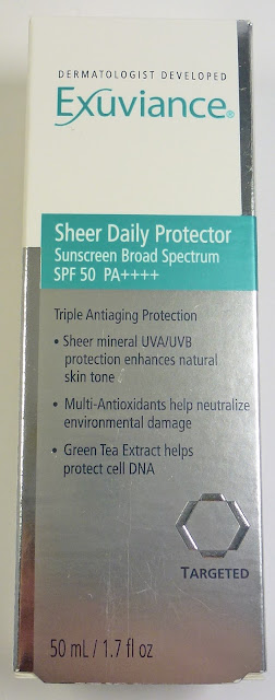 Exuviance Sheer Daily Protector Sunscreen SPF 50
