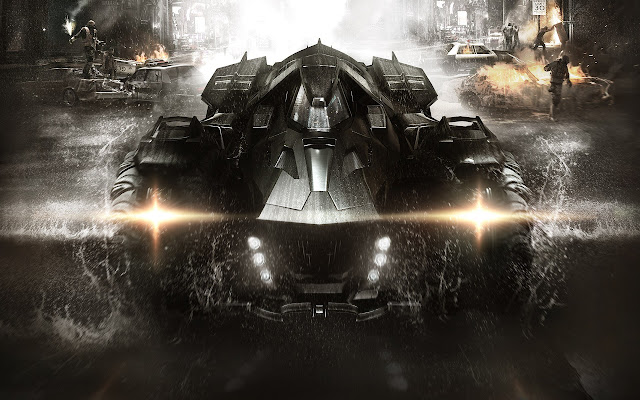 Rocksteady Studios Batman Arkham Knight Batmobile