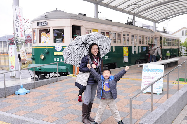 Travel Kyoto with kids railway museum