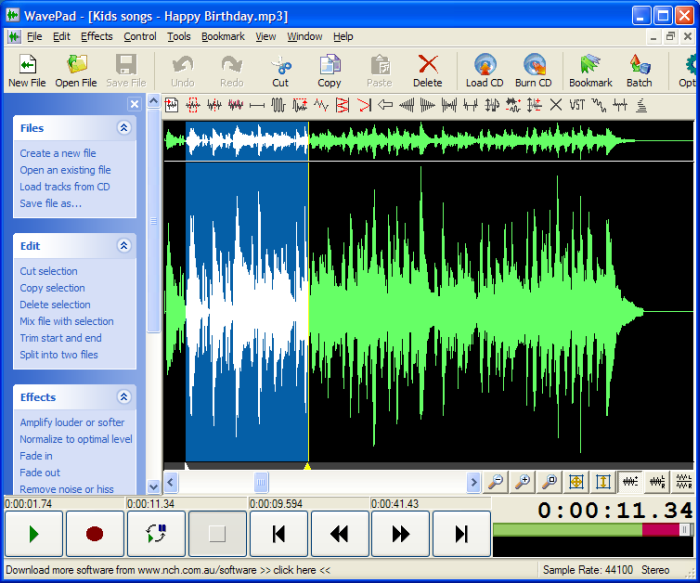 New Looks, Vixist.: NCH WavePad 4.52 ( FULL ) - The Best ...