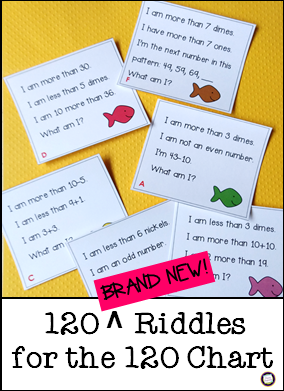 Primary Inspiration: 120 New Math Riddles     and a Sample, Too!