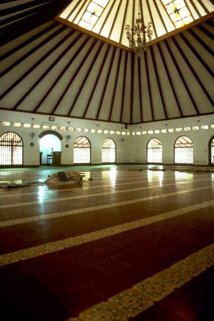 interior Masjid Said Naum