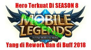 Ini Dia Hero Paling Kuat Mobile Legends Setelah Upgrade 2018