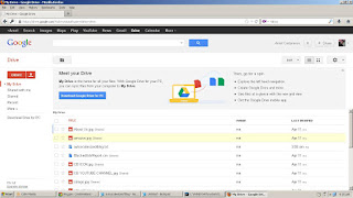 USE GOOGLE DRIVE TO BACKUP YOUR DATA