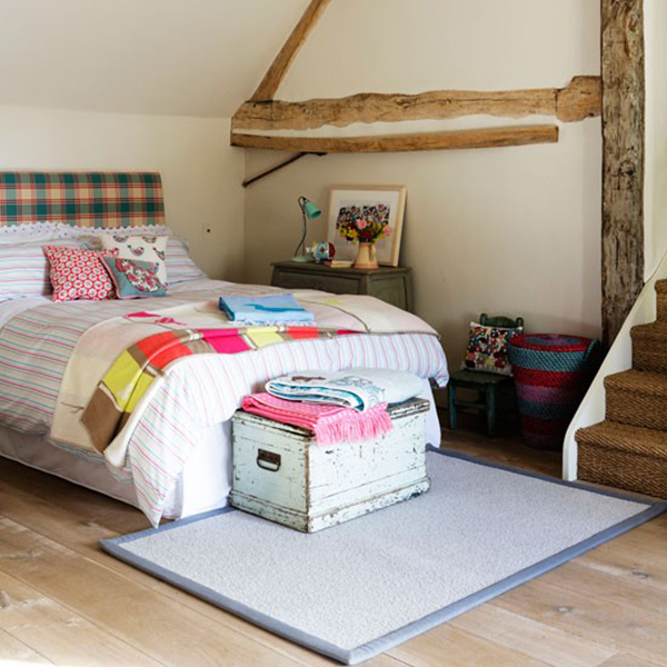 Rustic Country Cottage Bedroom