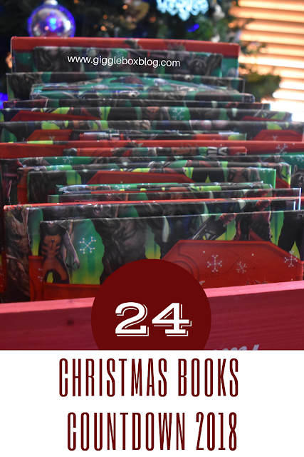 Christmas books countdown, Christmas countdown, Christmas traditions, Christmas books, family fun at Christmas,