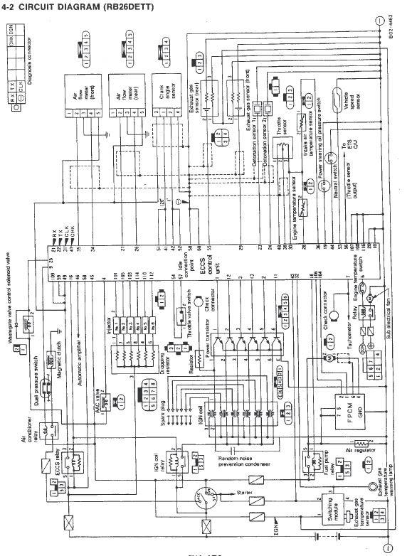 Nissan Skyline Oxygen Sensor  02 Sensors  Exhaust Gas Sensor