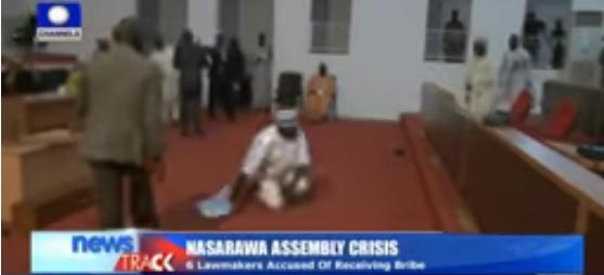 Video, Photos: Nassarawa House Of Assembly Members Involved In Free-for-all Fight