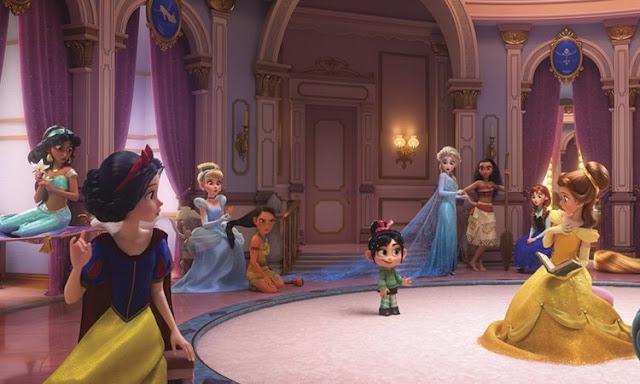 Vanellope y las Princesas Disney