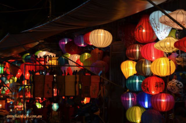 Lanterns for sale, Hoi An