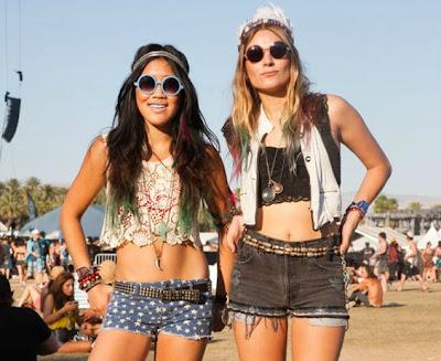 styles vestimentaires Festival Coachella 2013