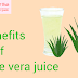 Benefits of eating Aloe vera in empty stomach