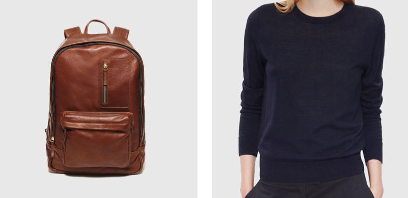 Ernest Alexander backpack // COS jumper