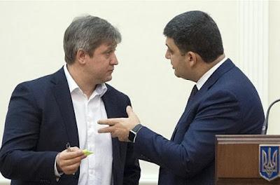 Гройсман підписав подання на звільнення міністра Данилюка