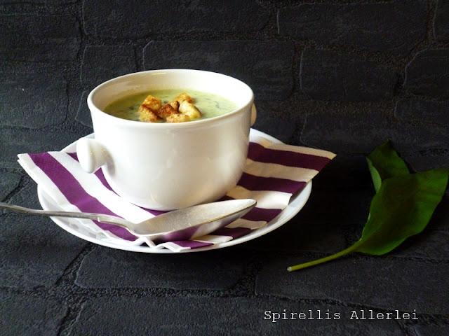 Spirellis Allerlei - Bärlauch Kartoffel Suppe